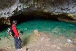 cave;caves;clear;green;holiday;holidaying;holidays;jade;N.I.;N.Z.;New-Zealand;NI;North-Island;NZ;pool;pools;Ruatapu-Cave;spring;subterranean;tourism;tourist;tourists;travel;traveling;travelling;underground;vacation;vacationing;vacations;water