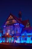 Bath-House;Bay-of-Plenty-Region;building;buildings;dark;dusk;evening;Government-Gardens;heritage;historic;historic-building;historic-buildings;historical;historical-building;historical-buildings;history;light;lighting;lights;N.I.;N.Z.;New-Zealand;NI;night;night-time;night_time;North-Is;North-Island;Nth-Is;NZ;old;Rotorua;Rotorua-Museum;tradition;traditional;twilight