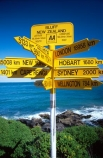 direction;directions;distance;distances;foveaux-strait;ocean;sea;sign;sign-post;signs;south;southern