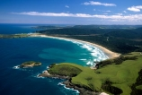 New-Zealand;coast;coastal;coastline;shore;shoreline;beach;beaches;sand;sandy;waves;wave;sea;ocean;Pacific;bay;colour;color;farmland;rural;marine;rugged;Southern-Scenic-Route