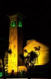 night;nighttime;light;lit;lighting;historical;history;old;brick;bricks;congregation;congregate;building;Italian-Romanesque-design;John-Mair;Italo_Byzantine-period;mosaic;campanile;bell-tower