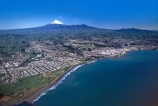sea;ocean;tasman;coast;coastline;city;cities;shoreline;mountain;mountains;volcano;volcanoes