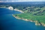 aerial;aerials;bluff;bluffs;cliff;coast;coastline;farm;farmland;farms;ocean-tasman;sea;shore;shoreline
