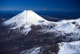 cone;crater;craters;distance;flow;lava;mountain;mountains;peak;rock;rocky;snow;volcanic;volcano;winter