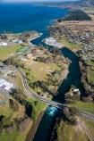aerial;aerial-photo;aerial-photography;aerial-photos;aerial-view;aerial-views;aerials;control-gate;control-gates;lake;Lake-Taupo;lakes;N.I.;N.Z.;New-Zealand;NI;North-Island;NZ;river;rivers;Taupo;Waikato-River