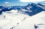 mountain;mountains;snow;snowy;powder-snow;slope;slopes;smooth;low-cloud;cloud;fluffy-cloud;distant;distance