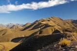 Central-Otago;high-country;highcountry;highland;highlands;Lindis-Pass;mountain;mountains;N.Z.;New-Zealand;North-Otago;NZ;Otago;range;ranges;ridge;ridgeline;ridgelines;ridges;SI;snow-tussock;snow-tussocks;South-Island;tussock;tussock-land;tussock-lands;tussockland;tussocklands;tussocks;uplands