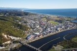 aerial;aerial-photo;aerial-photograph;aerial-photographs;aerial-photography;aerial-photos;aerial-view;aerial-views;aerials;bridge;bridges;Cobden-Bridge;Grey-River;Greymouth;Mawheranui;N.Z.;New-Zealand;NZ;river;rivers;S.I.;SI;South-Island;West-Coast;Westland
