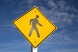 crossing;N.Z.;New-Zealand;NZ;pedestrian;pedestrian-crossing;pedestrians;People-Walking-Sign;person;S.I.;SI;sign;signs;South-Island;walk;walker;walkers;walking;walks;warning;warning-sign;warning-signs;warnings;West-Coast;Westland;yellow