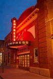 AB;Alberta;building;buildings;Canada;Canadian;dusk;Empress-Theatre;evening;Fort-MacLeod;Fort-McLeod;heritage;historic;historic-building;historic-buildings;historical;historical-building;historical-buildings;history;neon;neon-sign;neons;night;night-time;noen-signs;North-America;old;theatre;theatres;tradition;traditional;twilight;Western-Canada
