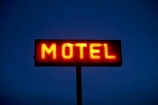 AB;Alberta;Canada;Canadian;dusk;evening;Fort-MacLeod;Fort-McLeod;motel-sign;motel-signs;neon;neon-sign;neons;night;night-time;noen-signs;North-America;sign;signs;twilight;Western-Canada
