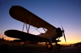 Aeroplane;Aeroplanes;Aircraft;Aircrafts;Airplane;Airplanes;aviation;biplane;biplanes;Boeing-A75N1-Stearman-Biplane;Chile;Club-de-Planeadores-de-Santiago;dusk;evening;Fly;Municipal-de-las-Condes;Municipal-de-Vitacura;nightfall;Plane;Planes;Santiago;SCLC;sky;South-America;Sth-America;sunset;sunsets;twilight;Vitacura-Airfield;Vitacura-Airport