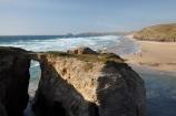 beach;beaches;bluff;bluffs;Britain;cliff;cliffs;coast;coastal;coastline;coastlines;coasts;Cornwall;England;foreshore;G.B.;GB;geological;geology;Great-Britain;natural-arch;natural-arches;natural-bridge;natural-bridges;natural-geological-formation;natural-geological-formations;ocean;oceans;Perran-Bay;Perran-Beach;Perranporth;rock;rock-arch;rock-arches;rock-formation;rock-formations;rock-outcrop;rock-outcrops;rock-tor;rock-torr;rock-torrs;rock-tors;rocks;sand;sandy;sea;sea-arch;sea-arches;seas;shore;shoreline;shorelines;shores;stone;surf;U.K.;UK;United-Kingdom;unusual-natural-feature;unusual-natural-features;unusual-natural-formation;unusual-natural-formations;water;wave;waves