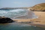 beach;beaches;Britain;Chapel-Rock;coast;coastal;coastline;coastlines;coasts;Cornwall;England;foreshore;G.B.;GB;Great-Britain;ocean;oceans;people;Perran-Bay;Perran-Beach;Perranporth;person;sand;sandy;sea;seas;shore;shoreline;shorelines;shores;surf;U.K.;UK;United-Kingdom;water;wave;waves