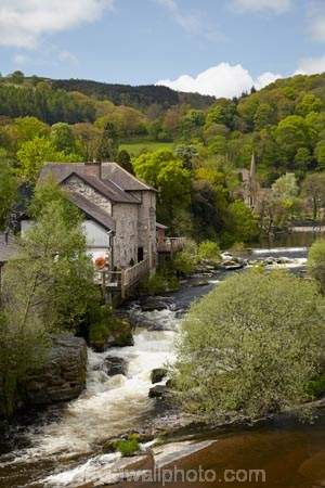 Britain;British-Isles;canal;canals;Cymru;Dee-Valley;Denbighshire;G.B.;GB;Great-Britain;Llangollen;Llangollen-Canal;north_east-Wales;river;River-Dee;rivers;spring;The-Corn-Mill;U.K.;UK;United-Kingdom;Wales;welsh;Y-Felin-YD
