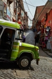 Bolivia;Bolivian-Bus;building;buildings;bus;buses;capital;Capital-of-Bolivia;Chuqi-Yapu;cities;city;cobble-stone-streets;cobble_stoned;cobblestone;cobblestoned;cobblestones;El-Mercardo-de-las-Brujas;heritage;historic;historic-building;historic-buildings;historical;historical-building;historical-buildings;history;La-Hechiceria;La-Paz;Latin-America;Mercardo-de-las-Brujas;micros;motorbus;motorbuses;narrow-street;narrow-streets;Nuestra-Señora-de-La-Paz;old;omnibus;omnibuses;passenger-bus;passenger-buses;passenger-transport;public-transport;public-transportation;South-America;steep-street;steep-streets;Sth-America;street-scene;street-scenes;The-Americas;The-Witches-Market;tradition;traditional;traditional-bus;transportation;Witches-Market;Witches-Market