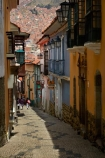 alley;alleys;alleyway;Bolivia;building;buildings;Calle-Jaen;capital;Capital-of-Bolivia;Chuqi-Yapu;cities;city;cobble-stone-streets;cobble_stoned;cobblestone;cobblestoned;cobblestones;heritage;historic;historic-building;historic-buildings;historical;historical-building;historical-buildings;history;La-Paz;Latin-America;Llama-Market;Llamas-market;narrow;narrow-street;narrow-streets;Nuestra-Señora-de-La-Paz;old;Qawra-Cancha;South-America;steep;steep-street;steep-streets;Sth-America;The-Americas;tradition;traditional