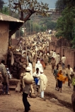 religion;religious;belief;beige;robes;donkey;markets;biblical-scene;historical;historic;people;crowd;Ethiopian