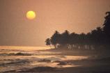 african;silhouette;sunset;sunrise;ocean;sea;atlantic;elmina;ghana;ghanain;west-africa;sahel;light;sun-;palm-tree;palm-trees;beach;beaches;waves