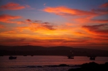 Africa;boat;boats;break-of-day;dawn;dawning;daybreak;first-light;harbor;harbors;harbour;harbours;Luderitz;Lüderitz;morning;Namibia;orange;Robert-Harbour;Shark-Is;Shark-Island;Shark-Island-Camp-Ground;Shark-Island-Camp-Site;Shark-Island-Camping;Southern-Africa;Southern-Namiba;sunrise;sunrises;sunup;twilight