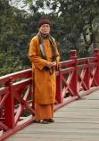 aged;Asia;Asian;bridge;bridges;Cu-Thê-Húc;Cau-The-Huc;elderly;foot-bridge;foot-bridges;footbridge;footbridges;H-Guom;H-Hoàn-Kim;Hanoi;heritage;historic;historic-place;historic-places;historical;historical-place;historical-places;history;Hoan-Kiem-Lake;Jade-Island;lake;Lake-of-the-Restored-Sword;Lake-of-the-Returned-Sword;lakes;monk;monks;Ngoc-Son-Temple;O.A.P.;O.A.P.s;OAP;OAPs;old;Old-Quarter;orange-robe;orange-robes;pedestrian-bridge;pedestrian-bridges;pensioner;pensioners;people;person;Red-Bridge;retired;South-East-Asia;Southeast-Asia;Sword-Lake;Temple-of-the-Jade-Mountain;The-Huc-Bridge;tradition;traditional;Vietnam;Vietnamese;water;wooden-bridge;wooden-bridges