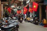 alley;alleys;alleyway;alleyways;Asia;Asian;back-street;back-streets;backstreet;backstreets;bike;bikes;flag;flags;Hanoi;Hanoi-Old-Quarter;lane;lanes;laneway;laneways;motorbike;motorbikes;motorcycle;motorcycles;motorscooter;motorscooters;Old-Quarter;park;parked;parking;people;person;red-flag;red-flags;row;rows;scooter;scooters;South-East-Asia;Southeast-Asia;step_through;step_throughs;street;street-scene;street-scenes;streets;Vietnam;Vietnam-Flag;Vietnam-Flags;Vietnamese;Vietnamese-Flag;Vietnamese-Flags