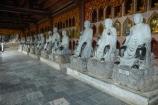 alabaster;Arhat;Arhats;Asia;Bai-Dinh-Buddist-Temple;Bai-Dinh-Mountain;Bai-Dinh-Temple;Bai-Dinh-Temple-Spiritual-and-Cultural-Complex;Buddhist-Temple;Buddhist-Temples;Buddism;Buddist;Chua-Bai-Dinh;cloister;cloisters;corridor;corridors;Gai-Vien-District;gold;hall;halls;man;marble;men;Ninh-Binh;Ninh-Binh-Province;Ninh-Bình-province;Northern-Vietnam;people;person;place-of-worship;places-of-worship;pray;prayer;praying;religion;religions;religious;South-East-Asia;Southeast-Asia;statue;statues;stone;stone-statues;temple;temples;Vietnam;Vietnamese