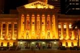 architecture;art-galleries;art-gallery;australasia;Australia;australian;Brisbane;building;buildings;c.b.d.;cbd;central-business-district;City-Hall;colonial;column;columns;facade;facades;floodlighting;floodlit;historic;historical;illuminate;illuminated;Italian-renaissance;King-George-Square;museum;museums;night;night-time;Queensland;town-hall;town-halls