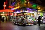australasia;Australia;Brisbane;dark;light;lights;magazine;magazines;malls;newsagencies;newsagency;Newsagent;newsagents;night;night-life;night-time;night_life;night_time;nightlife;pedestrian-mall;Queen-Street-Mall;Queensland;retail