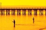 australasia;Australia;australian;coast;coastal;coastline;color;colors;colour;colours;dawn;fisher;fisherman;fishermen;fishers;fisherwoman;fisherwomen;fishing;Fraser-Coast;Hervey-Bay;jetties;jetty;orange;pier;piers;queensland;silhouette;silhouettes;sunrise;Urangan-pier;wharf;wharfs;wharves