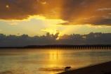australasia;Australia;australian;coast;coastal;coastline;color;colors;colour;colours;dawn;dog;dogs;Fraser-Coast;Hervey-Bay;jetties;jetty;orange;pier;piers;queensland;ray;rays;silhouette;silhouettes;sun-rays;sunrays;sunrise;Urangan-pier;wharf;wharfs;wharves