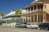 architectural;architecture;australasia;Australia;australian;balcony;building;buildings;character;colonial;Custom-House-Hotel;heritage;heritage-centre;historic;historical;hotels;Maryborough;old;palm;palm-tree;palm-trees;palms;Queensland;street;streets