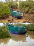 Australasian;Australia;Australian;boat;boats;Derby;estuaries;estuary;high-tide;inlet;inlets;Kimberley;Kimberley-Region;King-Sound;king-tide;king-tides;lagoon;lagoons;low-tide;mangrove;mangroves;The-Kimberley;tidal;tidal-difference;tide;tides;W.A.;WA;water;West-Australia;Western-Australia;yacht;yachts