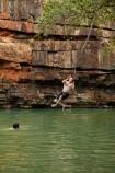 Australasian;Australia;Australian;billabong;billabongs;bluff;bluffs;cliff;cliffs;fun;jump;jumping;Kimberley;Kimberley-Region;people;person;rope-swing;rope-swings;swim;swimming;swimming-hole;swimming-holes;The-Grotto;The-Kimberley;tourism;tourist;tourists;W.A.;WA;waterhole;waterholes;West-Australia;Western-Australia;Wyndham