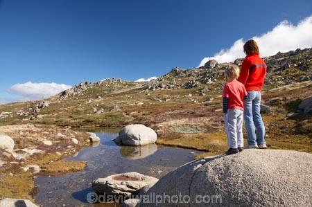 alpine;Australia;boulder;boulders;boy;boys;child;children;families;family;hike;hiker;hikers;hiking;kid;kids;Kosciuszko-N.P.;Kosciuszko-National-Park;Kosciuszko-NP;Kosciuszko-Walk;little-boy;mother;mothers;mountain-stream;mountain-streams;mountains;N.S.W.;New-South-Wales;North-Rams-Head;NSW;people;person;pond;ponds;pool;pools;Rams-Head-Range;rock;rocks;rocky;small-boys;Small-Mountain-Tarn;Snowy-Mountains;Snowy-Mountains-Drive;South-New-South-Wales;Southern-New-South-Wales;tramp;tramper;trampers;tramping;trek;treker;trekers;treking;trekker;trekkers;trekking;walk;walker;walkers;walking