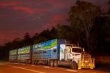 Australasia;Australia;cattle-truck;cattle-trucks;dusk;Emerald-Springs-Road-House;Emerald-Springs-Roadhouse;evening;highway;highways;juggernaut;juggernauts;lorries;lorry;N.T.;nightfall;Northern-Territory;NT;orange;road;road-train;road-trains;road_train;road_trains;roads;roadtrain;roadtrains;sky;Stuart-Highway;sunset;sunsets;Top-End;transport;transportation;truck;trucks;twilight;vehicle;vehicles