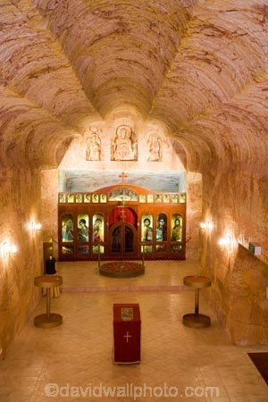 alter;alters;Australasian;Australia;Australian;Australian-Outback;Catacomb-Church;cathedral;cathedrals;cave;cavern;caverns;caves;christian;christianity;church;churches;Coober-Pedy;different;dugout;dugouts;faith;grotto;grottos;Outback;place-of-worship;places-of-worship;pulpit;pulpits;quirky;red-centre;religion;religions;religious;S.A.;SA;Serbian-Orthodox-Church;South-Australia;subterranean;under-ground;under_ground;underground;underground-church;underground-churches;underground-worship;underworld;unusual;unusual-church;unusual-churches