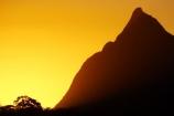 australasia;Australia;australian;dusk;Glass-House-Mountains;Glass-House-Mountains-National;Hinterland;mountain;mountains;natural;nature;orange;Queensland;silhouette;silhouettes;sunset;sunsets;sunshine-coast;twilight;volcanic-plug;volcanic-plugs