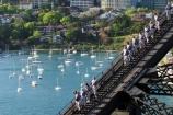 sydney;australia;bridge;climb;bridges;climber;silhouette;high;adventure;tourism;tourist;exciting;harbor;harbour;harbors;harbours;tourists;exciting;climbers;view-;yachts;yachts;bay