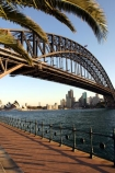 austrlia;sydney;cove;harbour;harbours;harbors;harbor;icon;icons;australian;landmark;landmarks;palm;palms;footpath;sidewalk;fence;rail;railing;bridge;bridges;opera;house;opera-house