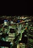 Night;Sydney;CBD;c.b.d.;central-business-district;Harbour;harbor;Bridge;Tower;Australia;office;offices;skyscraper;skyscrapers;light;lights;night_time;night-time