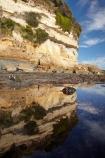 Australasian;Australia;Australian;bluff;bluffs;calm;clff;cliffs;coast;coastal;coastline;coastlines;coasts;foreshore;Fossil-Bluff;Fossil-Cliff;geological;geology;Island-of-Tasmania;North-West-Tasmania;North-Western-Tasmania;Northern-Tasmania;placid;quiet;reflection;reflections;rock;rock-formation;rock-formations;rock-outcrop;rock-outcrops;rocks;sandstone-cliffs;serene;shore;shoreline;shorelines;shores;smooth;State-of-Tasmania;still;stone;Tas;Tasmania;The-North;tranquil;water;Wynyard
