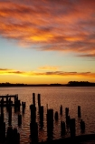 Australasian;Australia;Australian;dock;docks;dusk;evening;Island-of-Tasmania;jetties;jetty;Macquarie-Harbor;Macquarie-Harbour;nightfall;orange;pier;piers;piles;post;posts;quay;quays;sky;State-of-Tasmania;Strahan;Strahan-Harbor;Strahan-Harbour;sunset;sunsets;Tas;Tasmania;The-West;twilight;waterside;West-Tasmania;Western-Tasmania;wharf;wharfes;wharves