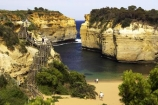 australasian;australia;australian;bay;bays;beach;beaches;bluff;bluffs;calm;cliff;cliffs;coast;coastal;coastline;erode;erodes;erosion;errosion;geological-formation;geological-formations;geology;great-ocean-highway;great-ocean-road;great-ocean-route;idylic;landscape;landscapes;loch-ard-gorge;loch-art-gorge;lochard-gorge;natrural-feature;natural-wonder;ocean;oceans;people;person;persons;port-campbell-national-park;rock-formation;rock-formations;sand;sandy;sea;seas;shipwreck-coast;shore;shoreline;southern-ocean;stair;staircase;staircases;stairs;stairway;stairways;steep;step;steps;tourism;tourist;tourists;travel;traveler;travelers;travellers;victoria;viewpoint;viewpoints;water