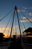 Auckland;Auckland-waterfront;bascule-bridge;bascule-bridges;bridge;bridges;cycle-bridge;cycle-bridges;cycling-bridge;cycling-bridges;dark;double-bascule-bridge;double-bascule-bridges;draw-bridge;draw-bridges;dusk;evening;foot-bridge;foot-bridges;footbridge;footbridges;lifting-bridge;lifting-bridges;N.Z.;New-Zealand;nightfall;North-Is.;North-Island;Nth-Is;NZ;opening-bascule-bridge;opening-bascule-bridges;opening-bridge;opening-bridges;pedestrian-bridge;pedestrian-bridges;sunset;sunsets;Te-Wero-Island;twilight;Viaduct-Basin;Viaduct-Harbour;waterfront;Wynyard-Crossing;Wynyard-Crossing-bridge;Wynyard-Quarter