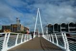 Auckland;Auckland-Region;Auckland-waterfront;bascule-bridge;bascule-bridges;bridge;bridges;cycle-bridge;cycle-bridges;cycling-bridge;cycling-bridges;double-bascule-bridge;double-bascule-bridges;draw-bridge;draw-bridges;foot-bridge;foot-bridges;footbridge;footbridges;lifting-bridge;lifting-bridges;N.I.;N.Z.;New-Zealand;NI;North-Is;North-Is.;North-Island;Nth-Is;NZ;opening-bascule-bridge;opening-bascule-bridges;opening-bridge;opening-bridges;pedestrian-bridge;pedestrian-bridges;Te-Wero-Island;twilight;Viaduct-Basin;Viaduct-Harbour;waterfront;Wynyard-Crossing;Wynyard-Crossing-bridge;Wynyard-Quarter