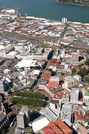 city;town;aerial;aerials;section;urban-sprawl;populated;CBD;central-business-district;layout;octagon;railway-station;railway