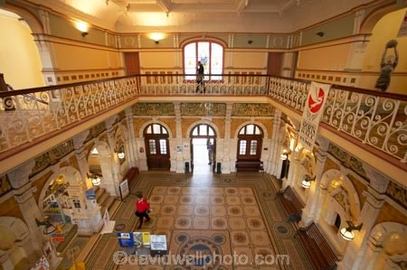1906;architecture;building;buildings;Dunedin;Dunedin-Railway-Station;Flemish-Renaissance-style;foyer;foyers;George-A-Troup;Gingerbread-George;heritage;Historic;historic-building;historic-buildings;historical;historical-building;historical-buildings;history;inside;interior;mosaic;mosaic-floor;mosaic-pattern;mosaic-tiles;mosaics;New-Zealand;old;Otago;rail-station;rail-stations;railway;railway-station;railway-stations;railways;South-Island;ticket-office;ticket-offices;tradition;traditional;train-station;train-stations