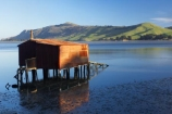 Boat-Shed;boat-sheds;boatshed;boatsheds;calm;corrugated-iron;corrugated-metal;corrugated-steel;Dunedin;estuaries;estuary;Hoopers-Inlet;inlet;inlets;lagoon;lagoons;N.Z.;New-Zealand;NZ;Otago;Otago-Peninsula;placid;quiet;reflection;reflections;roofing-iron;S.I.;serene;SI;smooth;South-Is.;South-Island;still;tidal;tide;tranquil;water