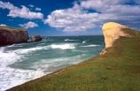 coast;coastal;coastline;outcrop;spectacular;dramatic;limestone;track;tunnels;sea_carved;sea-carved;sea;ocean;sandstone;cliff;cliffs;John-Cargill;1870s;public;walkway;path